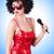 pop · estrellas · vestido · rojo · gradiente · fiesta · feliz - foto stock © elnur