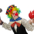 female clown with hammer and moneybox isolated on white stock photo © elnur