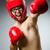 fraco · zangado · homem · lutar · desenho · animado - foto stock © elnur