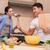 voedsel · strijd · voeding · vers · gezonde · broccoli - stockfoto © elnur