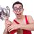drôle · lutteur · gagnants · tasse · groupe · lutte - photo stock © Elnur