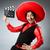 bandido · mexicano · revólver · bigode · sombrero - foto stock © elnur