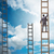 young businessman climbing career ladder stock photo © elnur