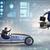 competição · pessoas · de · negócios · carros · empresário · acelerar - foto stock © elnur