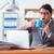 病気 · ビジネスマン · オフィス · ビジネス · 手 · 医療 - ストックフォト © elnur
