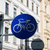 bicycle sign on street post stock photo © elnur
