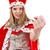 coroa · isolado · branco · mulher · modelo - foto stock © elnur