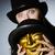 анонимный · маске · белый · древесины · ретро-стиле · бизнеса - Сток-фото © elnur