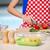 jóvenes · ama · de · casa · sopa · cucharón · aislado · blanco - foto stock © elnur