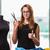 女性 · テーラー · 作業 · 新しい · ドレス · ファッション - ストックフォト © elnur