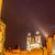 Prága · tornyok · alkonyat · Csehország · óváros · színház - stock fotó © elnur