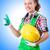 feminino · construtor · calculadora · branco · mulher · construção - foto stock © elnur