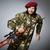 asker · tabanca · gri · tabanca · portre · siyah - stok fotoğraf © elnur