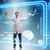 orvos · futurisztikus · orvosi · kisajtolás · gomb · számítógép - stock fotó © Elnur
