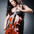 woman cellist performing with cello stock photo © elnur