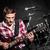 homme · jouer · guitare · concert · musique · fête - photo stock © elnur