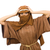 vrouw · hoofddoek · portret · traditioneel · klooster - stockfoto © elnur