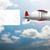 Billboard · самолет · небе · большой · пусто · копия · пространства - Сток-фото © elnur