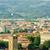 kilátás · Florence · nap · égbolt · naplemente · templom - stock fotó © elnur