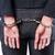 bilincs · fehérgalléros · bűnözés · letartóztatás · üzlet · főnök · szék - stock fotó © elnur