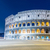 famous colosseum during evening hours stock photo © elnur