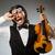 música · clássica · violoncelista · sinfonia · concerto · homem · jogar - foto stock © elnur
