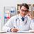 doktor · danışman · hasta · gülen · tıbbi · parlak - stok fotoğraf © elnur
