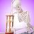 skeleton reading books against gradient stock photo © elnur