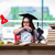 fiatal · nő · iskola · vizsgák · nő · boldog · otthon - stock fotó © elnur