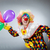clown · ballonnen · grappig · gelukkig · leuk · regenboog - stockfoto © elnur