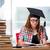 genç · öğrenci · üniversite · sınavlar · bilgisayar · kız - stok fotoğraf © elnur