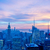 panorama · baisser · Manhattan · crépuscule · New · York · City · échange - photo stock © elnur