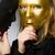 anoniem · masker · witte · hout · retro-stijl · business - stockfoto © elnur