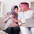 the young arab muslim family with pregnant wife expecting baby stock photo © elnur