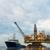 plataforma · de · petróleo · perfuração · costa - foto stock © elnur