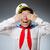 面白い · 船乗り · 着用 · 帽子 · 顔 · 海 - ストックフォト © elnur