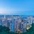 香港 · 市 · 日没 · 道路 · 光 · 通り - ストックフォト © elnur