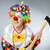 clown with axe in funny concept stock photo © elnur