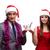 online · karácsony · vásárlás · piros · számítógép · belépés - stock fotó © elnur