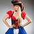kobiet · pirackich · kostium · kobieta · oka - zdjęcia stock © elnur