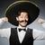 mexicano · hombre · funny · cara · feliz · retro - foto stock © Elnur