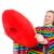 メキシコ料理 · 女性 · 孤立した · 白 · 幸せ · ダンサー - ストックフォト © elnur