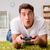 человека · компьютер · играх · домой · футбола · контроля - Сток-фото © elnur