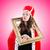 vrouw · koningin · grappig · computer · werk · zakenman - stockfoto © elnur