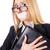 женщину · деловая · женщина · цензура · бизнеса · улыбка · счастливым - Сток-фото © elnur