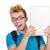 college · jongen · laptop · lopen · glimlachend - stockfoto © elnur