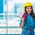 女性 · ビルダー · メモを取る · 建設現場 · 建設 · ビジネスマン - ストックフォト © elnur