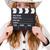 小さな · 映画 · ボード · 孤立した · 白 · 女性 - ストックフォト © Elnur