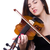 nő · játszik · hegedű · gyönyörű · fiatal · mosolygó · nő - stock fotó © elnur