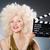 donna · grande · capelli · bella · fragola - foto d'archivio © elnur